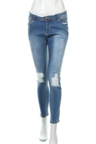 Дамски дънки Janina, Размер M, Цвят Син, 98% памук, 2% еластан, Цена 26,25лв.
