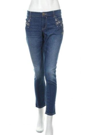 Γυναικείο Τζίν Janina, Μέγεθος XL, Χρώμα Μπλέ, 69% βαμβάκι, 30% πολυεστέρας, 1% ελαστάνη, Τιμή 17,54€