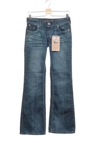 Дамски дънки Kenvelo, Размер S, Цвят Син, Цена 36,86лв.