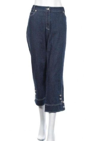 Дамски дънки Kombi, Размер XL, Цвят Син, 98% памук, 2% еластан, Цена 22,05лв.