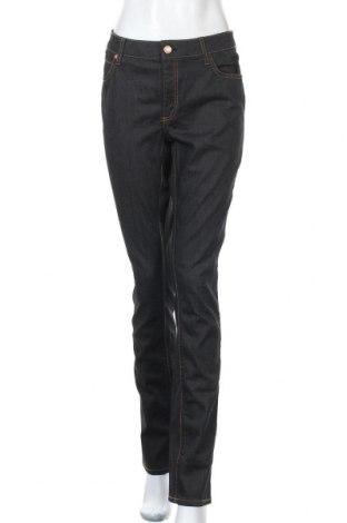 Дамски дънки Lindex, Размер XL, Цвят Син, 99% памук, 1% еластан, Цена 21,84лв.