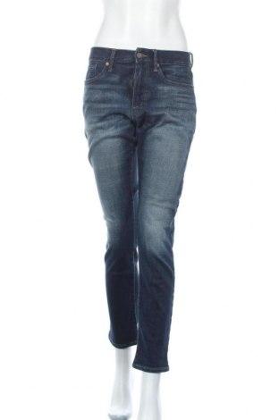 Дамски дънки Lucky Brand, Размер M, Цвят Син, 92% памук, 6% полиестер, 2% еластан, Цена 18,14лв.