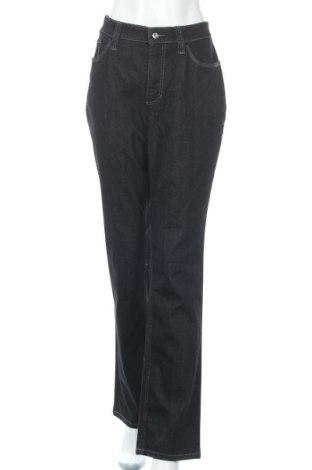 Дамски дънки Mac, Размер XL, Цвят Черен, 82% памук, 17% полиестер, 1% еластан, Цена 28,35лв.