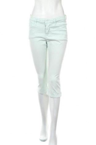 Дамски дънки Mac, Размер L, Цвят Син, 91% памук, 6% полиестер, 3% еластан, Цена 28,35лв.