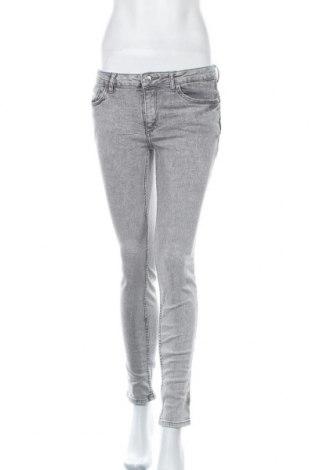 Γυναικείο Τζίν Mango, Μέγεθος M, Χρώμα Γκρί, 92% βαμβάκι, 7% πολυεστέρας, 1% ελαστάνη, Τιμή 18,84€