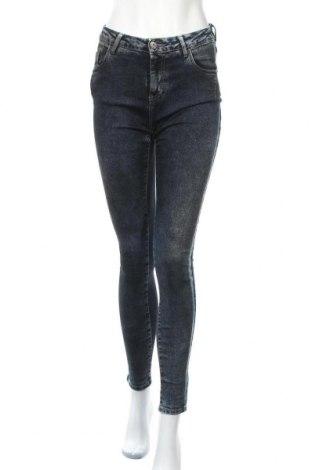 Дамски дънки Maryley, Размер S, Цвят Син, 98% памук, 2% еластан, Цена 10,76лв.