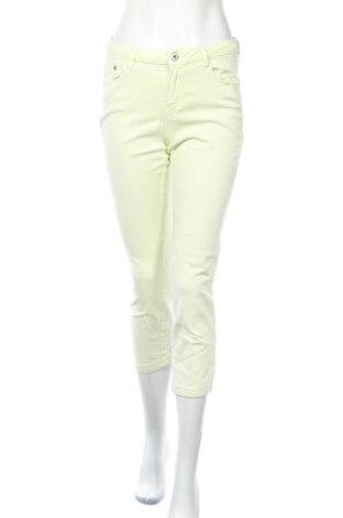 Дамски дънки Massimo Dutti, Размер M, Цвят Зелен, Цена 11,34лв.