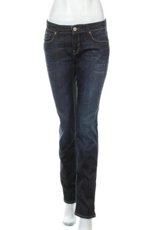 Дамски дънки Mavi, Размер M, Цвят Син, 98% памук, 2% еластан, Цена 26,25лв.