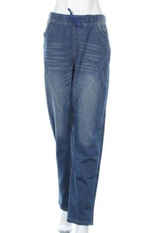 Дамски дънки Miss Look, Размер XL, Цвят Син, Цена 17,96лв.