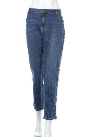 Дамски дънки My Own, Размер XXL, Цвят Син, 66% памук, 32% полиестер, 2% еластан, Цена 29,40лв.