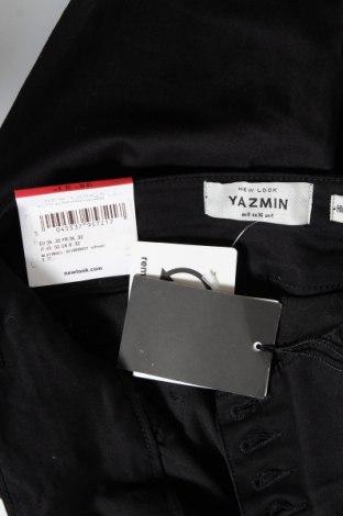 Дамски дънки New Look, Размер S, Цвят Черен, 71% памук, 25% полиестер, 4% еластан, Цена 20,06лв.