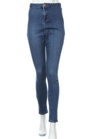 Γυναικείο Τζίν New Look, Μέγεθος XL, Χρώμα Μπλέ, 93% βαμβάκι, 5% πολυεστέρας, 2% ελαστάνη, Τιμή 9,74€