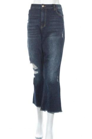 Γυναικείο Τζίν No Boundaries, Μέγεθος XL, Χρώμα Μπλέ, 99% βαμβάκι, 1% ελαστάνη, Τιμή 28,58€