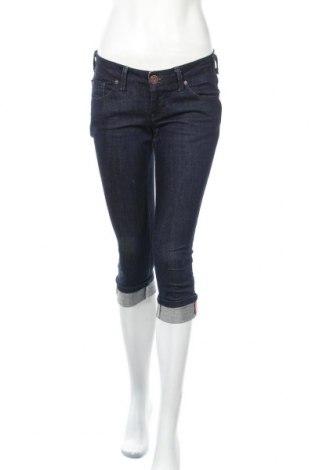 Дамски дънки ONLY, Размер S, Цвят Син, 98% памук, 2% еластан, Цена 19,85лв.