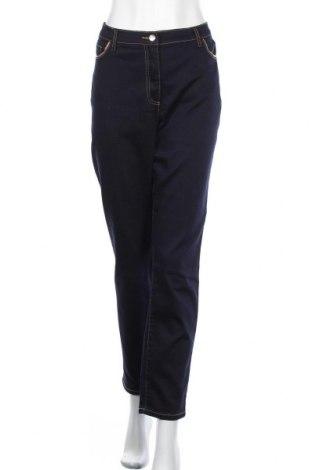 Дамски дънки Patrizia Dini, Размер XL, Цвят Син, 75% памук, 23% полиестер, 2% еластан, Цена 38,35лв.