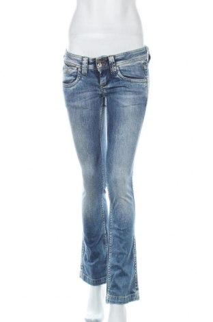 Дамски дънки Pepe Jeans, Размер M, Цвят Син, Цена 50,40лв.