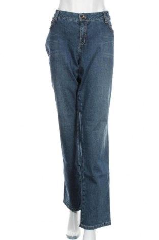 Дамски дънки Pierre Cardin, Размер XXL, Цвят Син, 98% памук, 2% еластан, Цена 38,59лв.