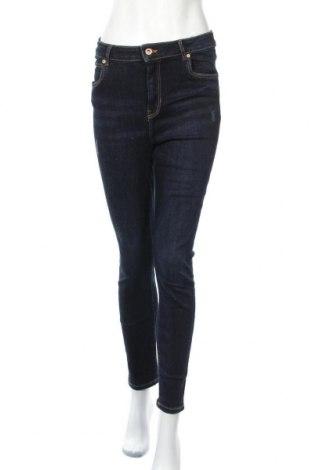 Дамски дънки Pimkie, Размер M, Цвят Син, 93% памук, 7% еластан, Цена 25,94лв.
