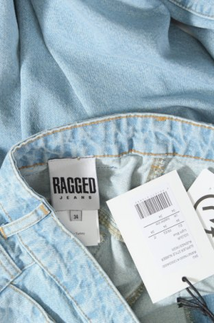 Дамски дънки Ragged, Размер L, Цвят Син, Памук, Цена 38,82лв.
