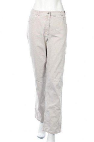 Дамски дънки Raphaela By Brax, Размер XL, Цвят Сив, 85% памук, 13% полиестер, 2% еластан, Цена 33,92лв.