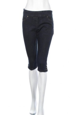 Дамски дънки Reitmans, Размер M, Цвят Син, 70% памук, 28% полиестер, 2% еластан, Цена 9,09лв.