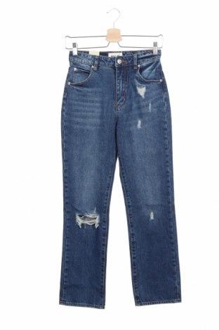 Дамски дънки Rolla's, Размер XS, Цвят Син, Памук, Цена 35,04лв.
