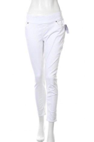 Дамски дънки Seraphine, Размер XL, Цвят Бял, 98% памук, 2% еластан, Цена 35,19лв.