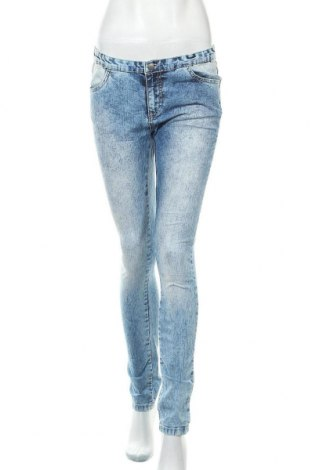 Дамски дънки Sparkz, Размер M, Цвят Син, 84% памук, 15% полиестер, 1% еластан, Цена 27,30лв.