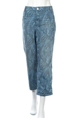 Дамски дънки Style & Co, Размер XXL, Цвят Син, 73% памук, 25% полиестер, 2% еластан, Цена 36,91лв.