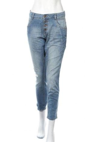 Дамски дънки Tom Tailor, Размер M, Цвят Син, 95% памук, 5% еластан, Цена 45,89лв.