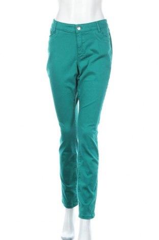Дамски дънки Triangle By s.Oliver, Размер L, Цвят Зелен, 93% памук, 5% полиестер, 2% еластан, Цена 64,40лв.