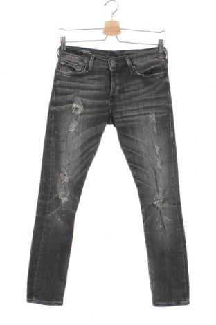 Дамски дънки True Religion, Размер XS, Цвят Сив, 94% памук, 4% полиестер, 2% еластан, Цена 54,60лв.