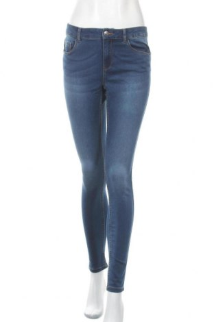 Дамски дънки Vero Moda, Размер M, Цвят Син, 66% памук, 32% полиестер, 2% еластан, Цена 22,94лв.