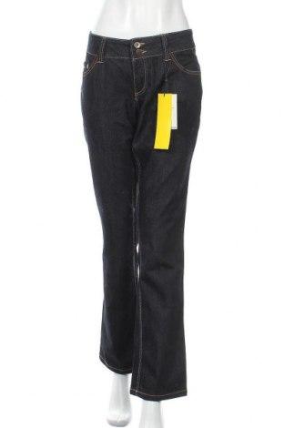 Дамски дънки Vero Moda, Размер XL, Цвят Син, 81% памук, 18% полиестер, 1% еластан, Цена 51,87лв.