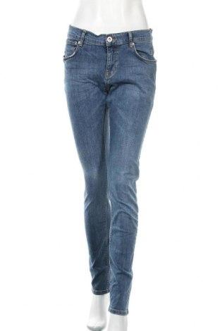 Дамски дънки Vrs Woman, Размер L, Цвят Син, 98% памук, 2% еластан, Цена 23,10лв.
