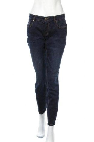 Дамски дънки Yessica, Размер M, Цвят Син, 98% памук, 2% еластан, Цена 24,94лв.