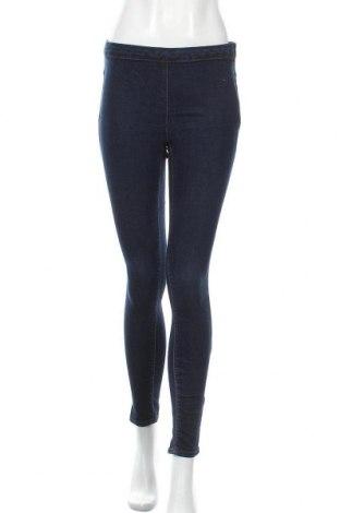 Дамски дънки Zara, Размер M, Цвят Син, Цена 33,60лв.