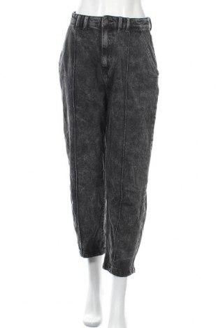 Дамски дънки Zara, Размер M, Цвят Сив, Памук, Цена 34,91лв.
