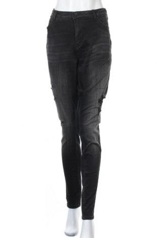 Дамски дънки Zizzi, Размер XL, Цвят Сив, 91% памук, 7% полиестер, 2% еластан, Цена 14,70лв.