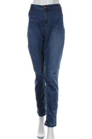Дамски дънки Zizzi, Размер XL, Цвят Син, 69% памук, 27% полиестер, 4% еластан, Цена 28,35лв.