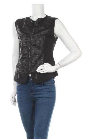 Γυναικείο γιλέκο Brandtex, Μέγεθος S, Χρώμα Μαύρο, 90% πολυεστέρας, 10% πολυουρεθάνης, Τιμή 12,34€