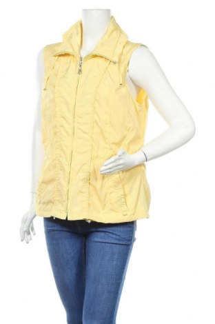 Γυναικείο γιλέκο Gelco, Μέγεθος L, Χρώμα Κίτρινο, Πολυεστέρας, Τιμή 13,64€