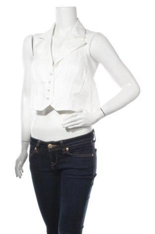 Γυναικείο γιλέκο Glamorous, Μέγεθος XL, Χρώμα Λευκό, 56% βαμβάκι, 39% πολυεστέρας, 5% βισκόζη, Τιμή 13,39€