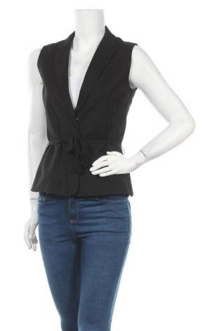 Γυναικείο γιλέκο H&M, Μέγεθος M, Χρώμα Μαύρο, 66% πολυεστέρας, 17% μαλλί, 15% βισκόζη, 2% ελαστάνη, Τιμή 15,59€