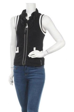 Дамски елек Marc Cain Sports, Размер S, Цвят Черен, 94% памук, 6% еластан, Цена 76,76лв.