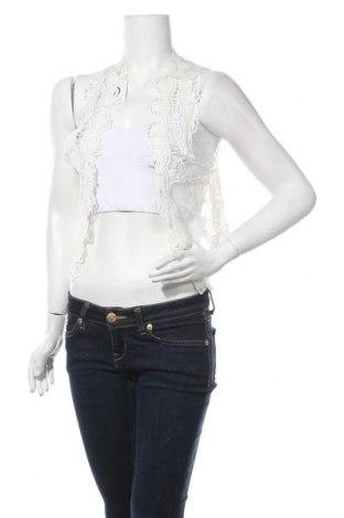 Γυναικείο γιλέκο Succo, Μέγεθος M, Χρώμα Λευκό, Βαμβάκι, Τιμή 14,94€