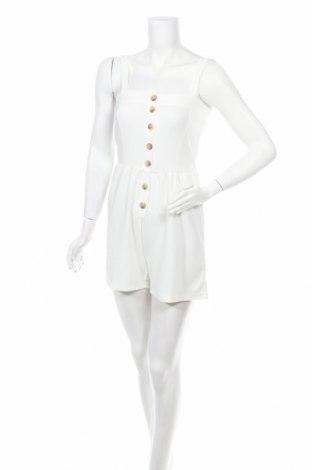 Dámský overal Jacqueline De Yong, Velikost S, Barva Bílá, 97% polyester, 3% elastan, Cena  413,00Kč