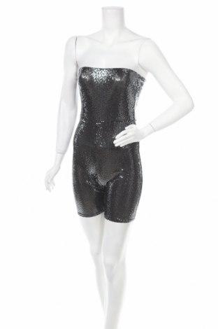 Dámský overal New Look, Velikost M, Barva Stříbrná, 92% polyamide, 5% elastan, 3% polyester, Cena  641,00Kč