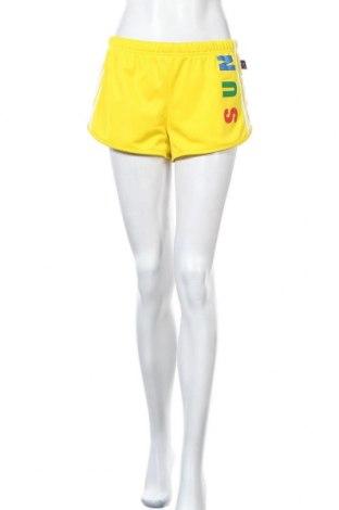 Dámské kraťasy  Adidas Originals x Pharrell Williams, Velikost M, Barva Žlutá, Polyester, Cena  750,00Kč