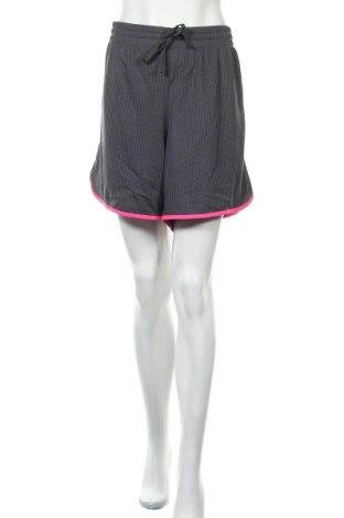 Дамски къс панталон Athletic Works, Размер XXL, Цвят Сив, Полиестер, Цена 18,95лв.
